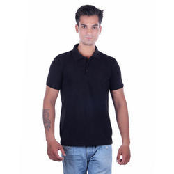 Men''s Solid Polo T-Shirt