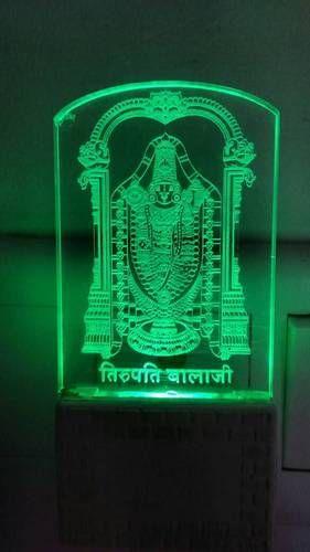 Marvelous God Photo Acrylic Night Lamp