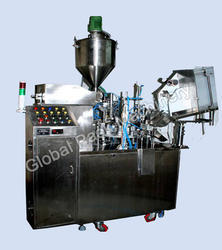 Semiautomatic Tube Filling Machine
