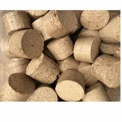 90 mm Bio Coal Briquettes, For Solid Fuel For Boiler, Cylindrical