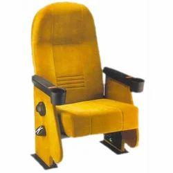 Designer Yellow Auditorium Chair