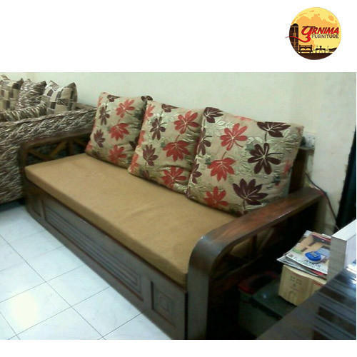 Wooden Sofa Cambed