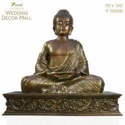 GA05B Fiberglass Buddha Sculpture