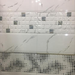Ceramic Decorative Wall Tile, Thickness: 8 - 10 mm
