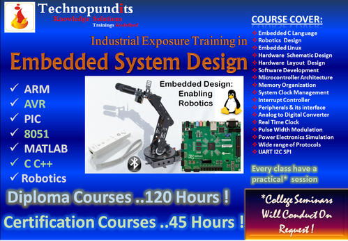 Embedded System Training, Embedded System Training Services