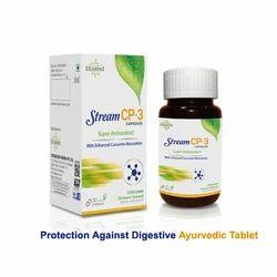 Stream CP-3 Protection Against Digestive Ayurvedic Tablet, Packaging Type: Bottle, Grade standard: Medicine grade
