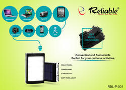 Reliable 20 Led13000 Solar Power Bank P-001