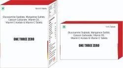 Glucosamine Sulphate Manganese Sulfate Calcium Carbonate Vit D3 Vit E Acetate & Vit C Tablet