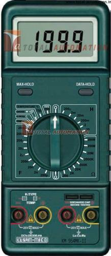 LCR Meter Hand & Bench Top - Kusam Meco KM 954mk-II Digital LCR