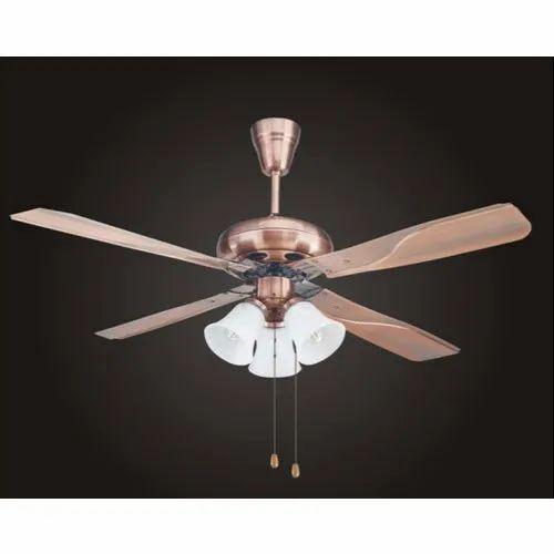 Carnation Light Ceiling Fan Size 52 Inch Warranty 2 Year Id 21335229373