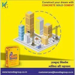 Kanodia Group Concrete Gold Cement