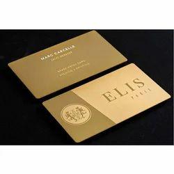 Rectangular Printed Business Card