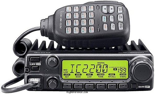 ICOM IC-2200H Base Station