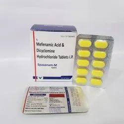 Mefenamic Acid & Dicyclomine Hydrochloride Tablets IP