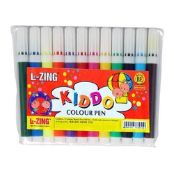 Lezing Kiddo Mini Sketch Pens