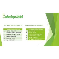 Import Trade Finance Services