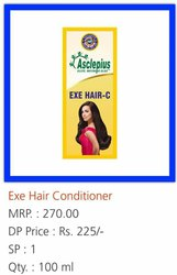 Awpl Ayurveda Exe Hair Conditioner, Pack Size: 100 mL