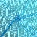 Blue Net Fabric