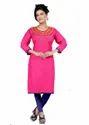 Designer Kurti in Pink