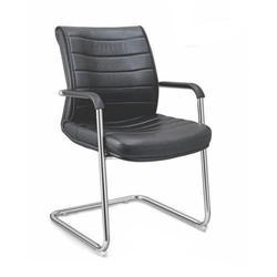 SPS-258 Workstation Black Leather Chair