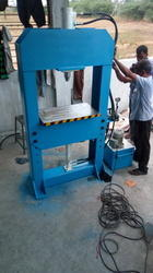 Hydraulic Height Adjustable Press