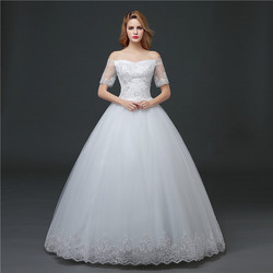 Christian Wedding Gown,Catholic Gown ,White Wedding Frock HS610 ,HS614