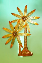 Golden Polished Vmat Decor, Work Provided: Fittings/Decor, Size/Dimension: 40 Inch (height)