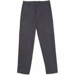 Cotton Black Boys School Trouser