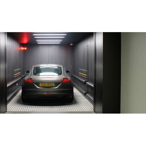 Stainless Steel Car Elevator