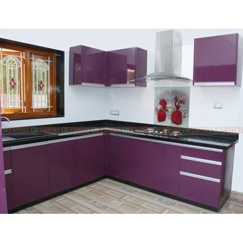 Laminated Modular Kitchen At Rs 1400 Square Feet: Laminated Modular Kitchen At Rs 550 /square Feet