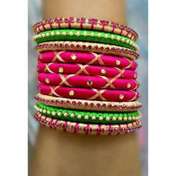 Fashionable Silk Thread Bangle