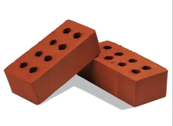 Rectangular Clay Red Bricks For Partition Walls, Size: 4x6 Inch, 4x9 Inch