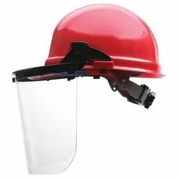 Plastic Face Shield Carrier