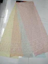 Lucknowi Chikan Suits, Machine wash