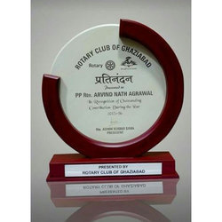 Engraved Wooden Trophy