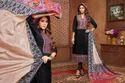 Collar Neck Sullu Salwar Suit Fabric