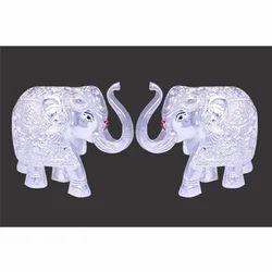 Silver Elelphante Statue