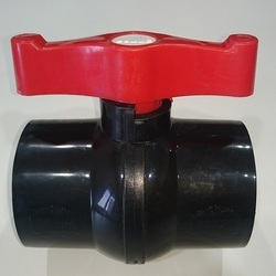 Gokul Plast Solid Agriculture PVC Ball Valve, Valve Size: 1/2 TO 8, Size: 15 m to 200mm