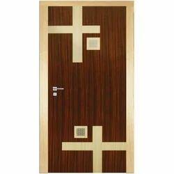 Wooden Texture PVC Door