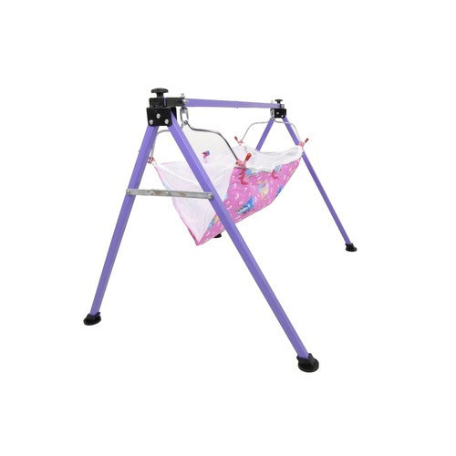 Baby Cradles Stainless Steel Frame Baby Swing Cradle, Rs 1100 /piece ...
