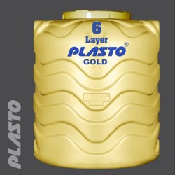 6 Layer Plasto Water Tank