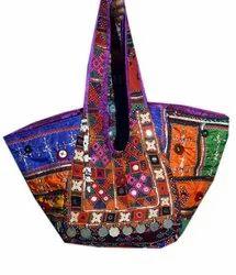Vintage Embroidered Banjara Handmade Bag Ethnic Patchwork Handbag Tote Designer Handbag