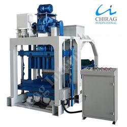 Chirag CI Hollow Brick Machine