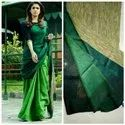 Khadi Cotton Gicha Work Sarees