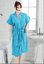 Sky Blue Bath Robe