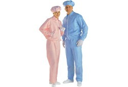 Blue Sky Polyester Anti Static Cleanroom Bodysuit
