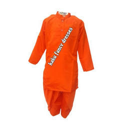Orange Dhoti Kurta