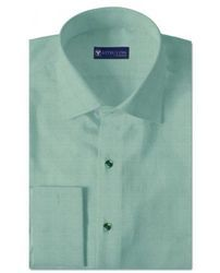 Odelia Green Pinpoint Oxford Shirts