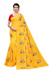 Designer Chandheri Embroidery Saree