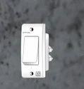 White 6 Amp. 1 Way Switch (n-3), 220-240 V